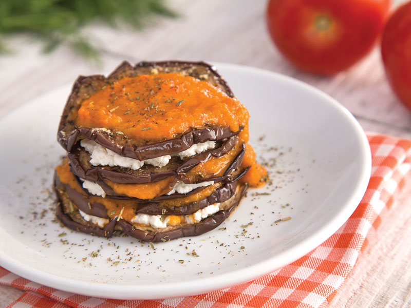 LASAÑA DE BERENJENA | Una forma diferente y sana de comer lasaña.