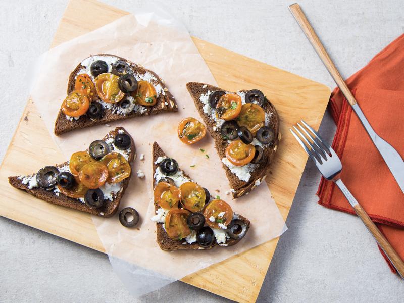 BROCHETA DE TOMATES CHERRY ROSTIZADOS | Una deliciosa boquita.