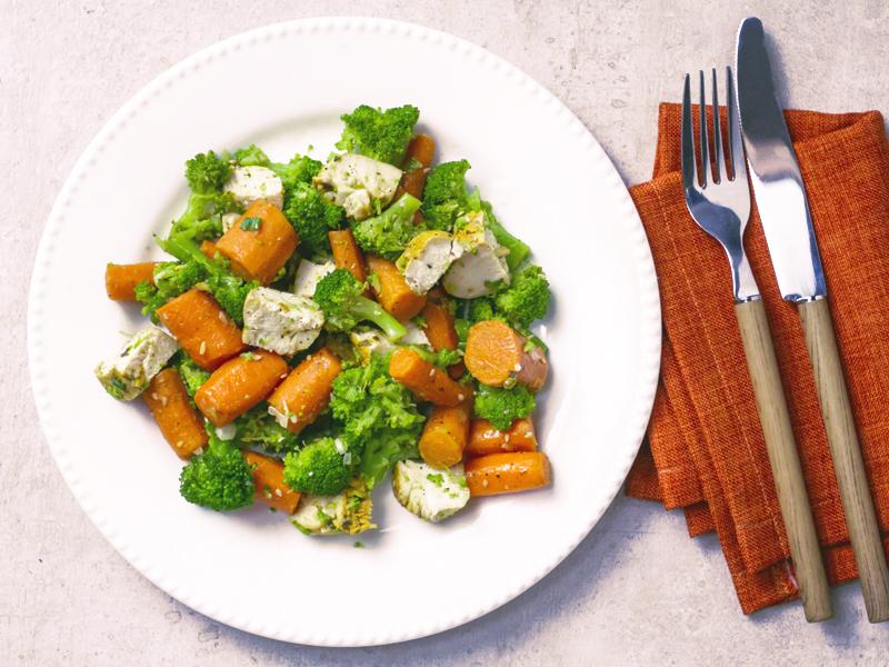 STIR FRY DE POLLO AL LIMÓN | La mezcla perfecta de vegetales y pollo con un toque asiático.
