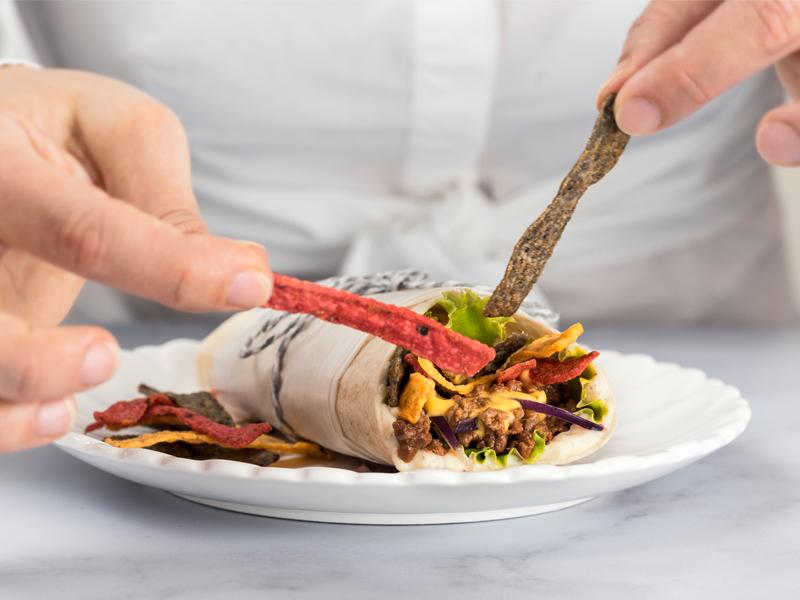 BURRITO CRUNCH CON TORTITIRAS® ¡YAESTÁ!® | Un delicioso burrito con un crunch especial.