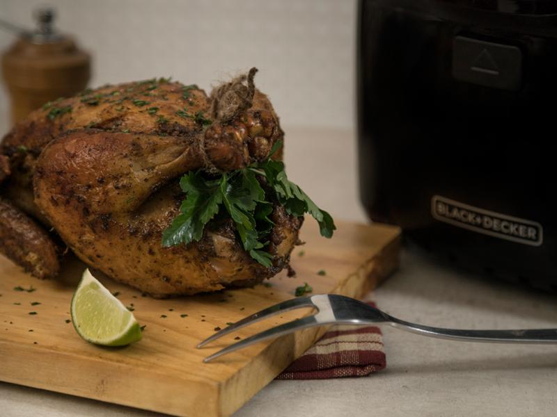 Pollo Frito sin Aceite ¡cero culpa! | Con la Freidora de Aire Saludable de BLACK+DECKER® puedes hacer esta y muchas más recetas deliciosas ¡sin culpa!