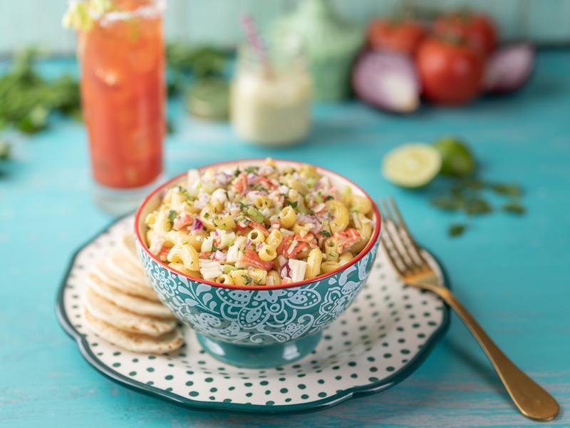 ENSALADA DE CODITOS CON CANGREJO   La combinación ideal de frescura y sabor.