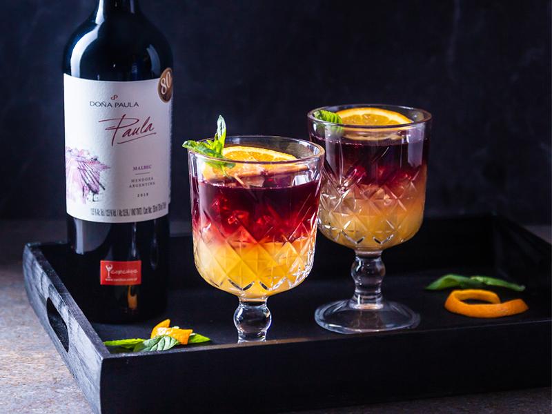 SANGRÍA DE NARANJA | La forma más refrescante de tomar vino tinto.