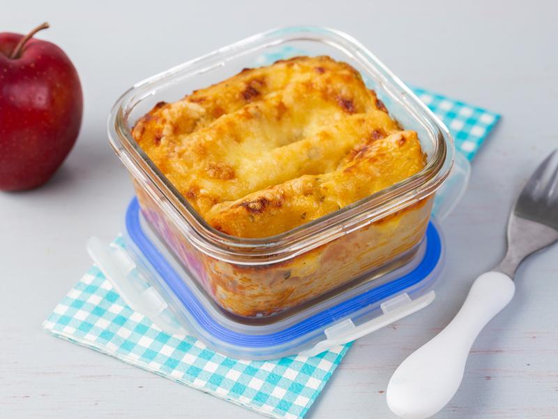 CANELONES A LA BOLOÑESA   El plato perfecto para las loncheras de niños y adultos.