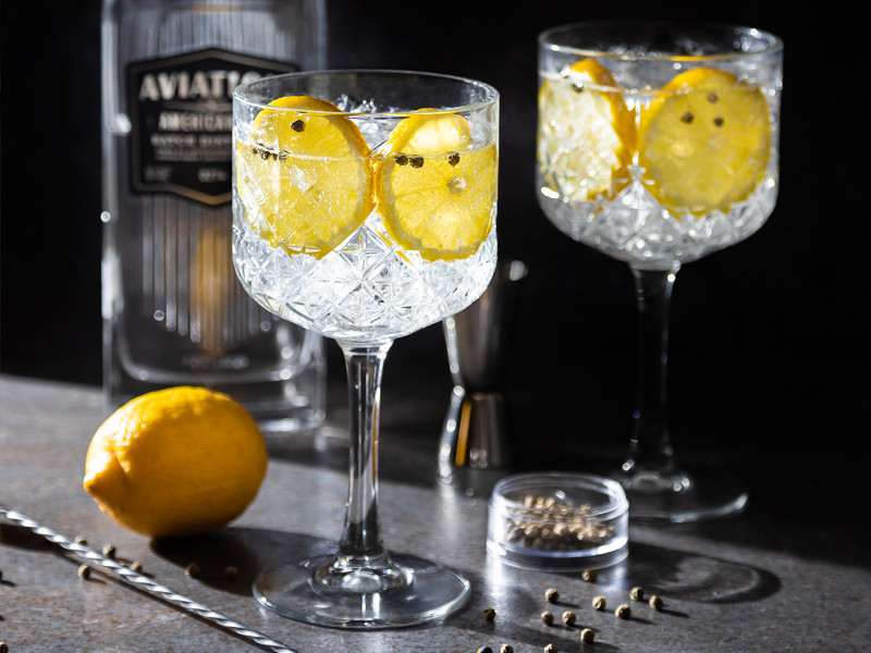 LIME PEPPER GIN TONIC | Ideal para refrescarse y pasarla bien.