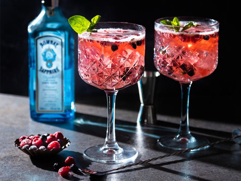 BERRYLICIOUS GIN & TONIC | ¡Delicioso y refrescante!