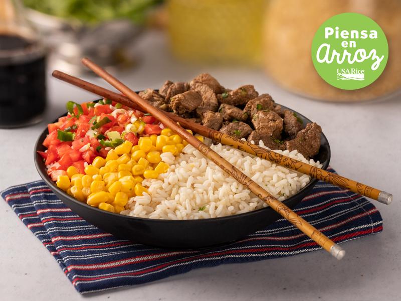 BOWL DE ARROZ | Un plato completo y listo para comer.