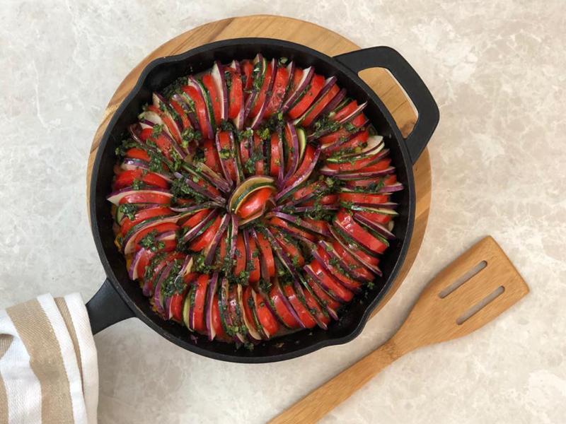 RATATOUIILLE | Un plato tradicional lleno de sabor.