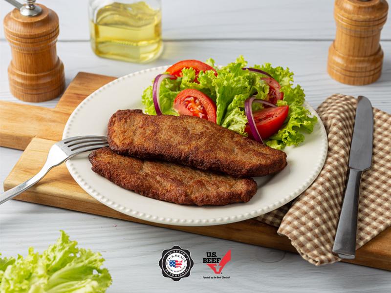 MILANESA | Con Filete sin Condimento de US MEAT EXPORT FEDERATION queda mejor.