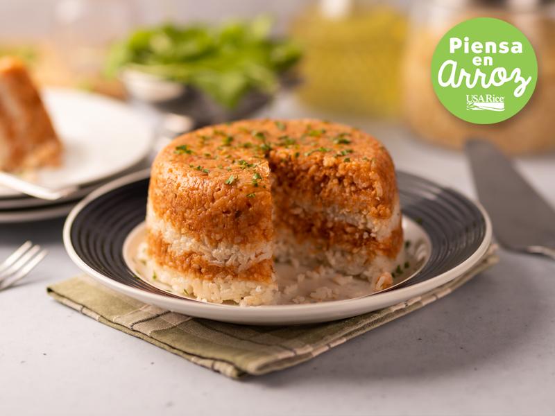 PASTEL DE ARROZ | Un plato completo lleno de sabor y nutrientes.