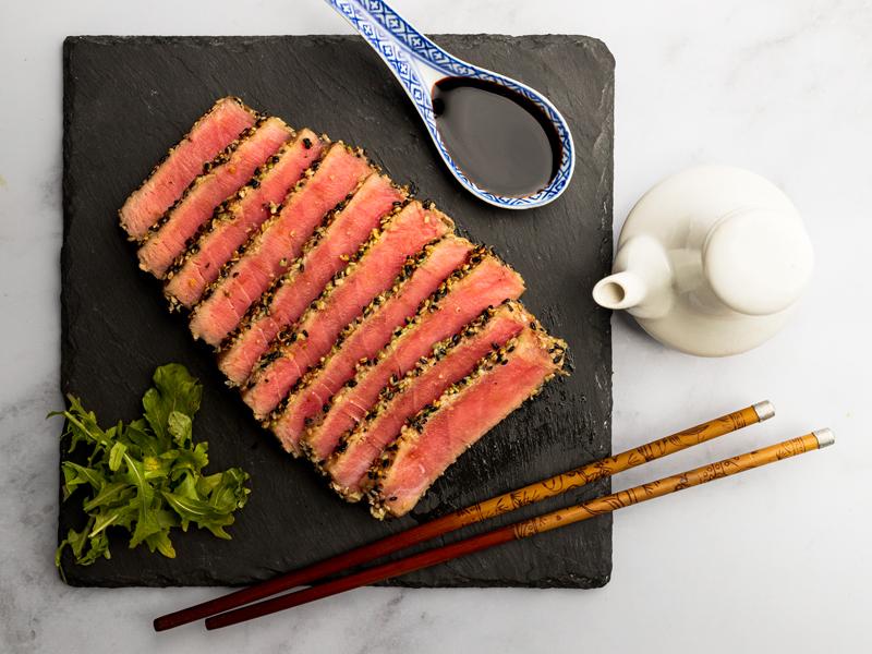 ATÚN SELLADO   Una receta de restaurante que tienes que saber preparar.